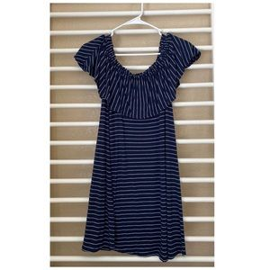 Off the shoulder dress by Abercrombie and Fitch